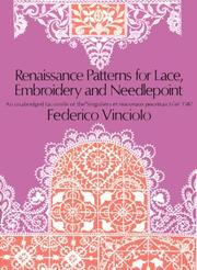 Renaissance patterns for lace and embroidery by Federico Vinciolo
