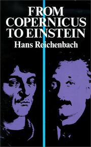 From Copernicus to Einstein by Hans Reichenbach