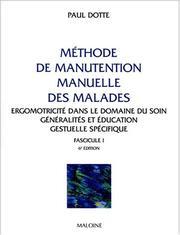 Methode manutention malade PDF