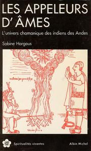 Les appeleurs d&#39;ames by Sabine Hargous