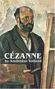 Paul Cézanne by Ambroise Vollard