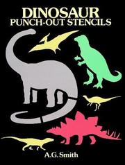 Dinosaur Punch-Out Stencils PDF