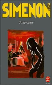 Strip-tease by Georges Simenon