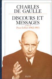 Discours et messages PDF