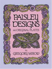 Paisley designs by Gregory Mirow