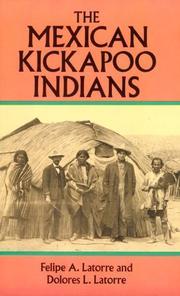The Mexican Kickapoo Indians PDF