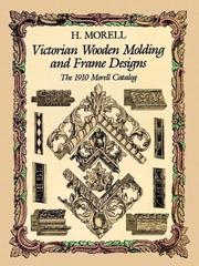 Victorian wooden molding and frame designs PDF