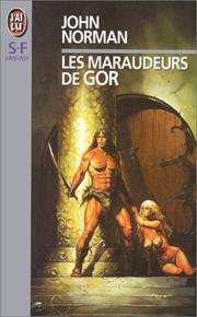 Cover of: Les maraudeurs de Gor by John Norman