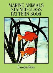 Marine animals stained glass pattern book PDF