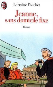 Jeanne, sans domicile fixe PDF