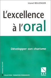 Excellence a l'oral PDF