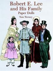 Robert E. Lee and His Family Paper Dolls PDF