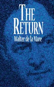 The return by De la Mare, Walter