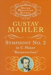 Symphony No. 2 in C Minor by Gustav Mahler