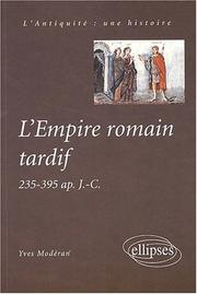 Empire romain tardif (235-395) PDF