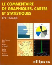 Le Commentaire de graphiques, cartes et statistiques en histoire PDF