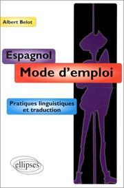 Espagnol mode d'emploi PDF