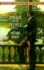 Cover of: An enemy of the people by Henrik Ibsen