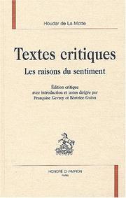 Textes critiques PDF