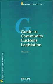 Guide to community customs l PDF