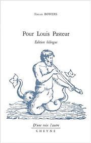 Pour louis pasteur PDF