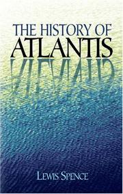 The history of Atlantis by Spence, Lewis