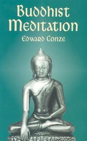 Buddhist Meditation by Edward Conze