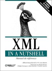 XML in a nutshell by Elliotte Rusty Harold