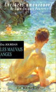 Cover of: Les Mauvais Anges by Eric Jourdan