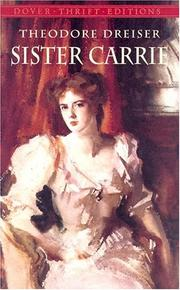 Cover of: Sister Carrie by Theodore Dreiser