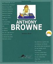 Anthony Browne PDF
