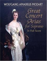 Great Concert Arias for Soprano in Full Score PDF