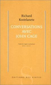 Conversations avec John Cage PDF