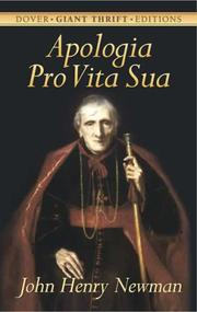 Apologia pro vita sua by John Henry Newman