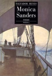 Cover of: Monica Sanders by Salvador Reyes