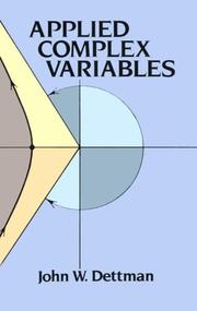Applied complex variables PDF