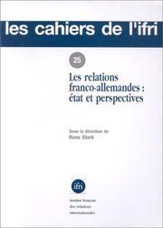 Les Relations franco-allemandes PDF
