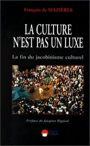 La culture n'est pas un luxe PDF