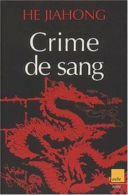 Crime de sang PDF