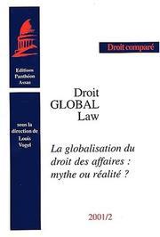 La globalisation du droit des affaires PDF