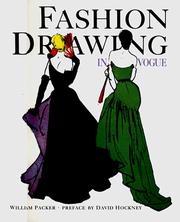Fashion drawing in Vogue by William Packer