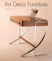 Art deco furniture by Alastair Duncan