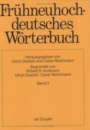 Fruhneuhochdeutches Worterbuch: Band 2 PDF