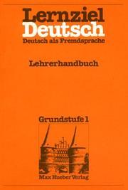 Lernziel Deutsch - Level 1 PDF