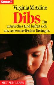 Dibs by Virginia Mae Axline