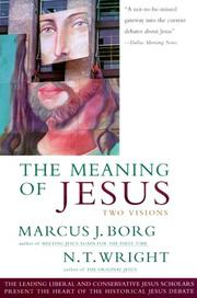 The Meaning of Jesus by N. T. Wright, Marcus J. Borg