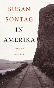 In Amerika by Susan Sontag