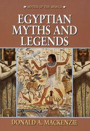 Egyptian myths and legends PDF