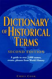 Dictionary of historical terms PDF