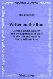 Writer on the run by Ena Pedersen